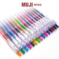 Muji muji high quality leugth pen cushiest gel pen unisex pen 0 5mm