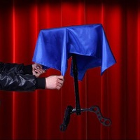 Free shipping Plastic Floating Table -Magic Trick,Accessories,stage magic props,close up/mentalism