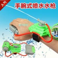 free shipping summer Outdoor Fun & Sports funny Hand Wrist Water Spray Nozzle  water gun Pistol baby bath  beach swimming toys