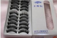 False eyelash fake Eye lashes false Eyelashes Handmade mix order 500Pair / Lot free shipping 10pair/box