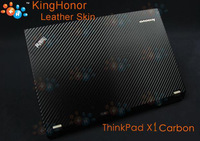 anti-oil,anti-water,anti-crack Original KH Special Laptop Black Carbon Skin Cover For Lenovo ThinkPad X1 Helix+ Free shipping