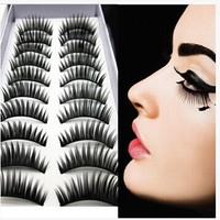500pairs\lots Handmade beautiful transparent exquisite handmade transparent  eyelashes false eyelashes