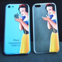 1PCS,For iphone5c cases Fairy Princess Snow White Hand grasp the logo cell phone cases covers to i phone 5c,free shipping
