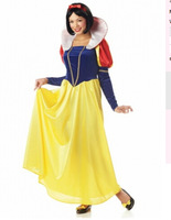 free shipping    Snow White Deluxe Princess Fairy Tale Fancy Dress Party Costume size small to 3xl