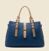 Vogue genuine leather bag tote fashion women handbag crossbody bag 2015 new design bolsas women messenger bags hot shoulder bag