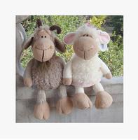 German original single genuine NICI sheep, goats butterfly lamb Dolly Plush Toy birthday holiday gift to send children