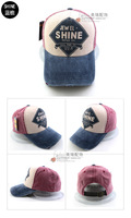 Women's summer casual cap jewel baseball cap fashion sun hat