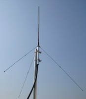 2014 new Professional FM Transmitter GP Antenna launch all-aluminum five center frequency Transmitter kit diy for Transmitter