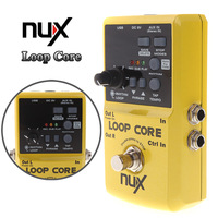 2014 NUX Loop Core Violao Guitar Electric Effect Pedal 6 Hours Recording Time Built-in Drum Patterns Musical Instrument Parts