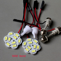 Panel LED Lamp 20PCS/LOT 9 LED 5630 SMD White 12V with 2 Defferent Adapter