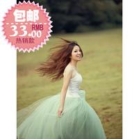 2014 Hot sale women low price princess style maxi skirt long skirt