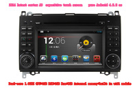 Pure Android 4.2.2 Car DVD Player for Mercedes Benz Sprinter A160 W906 A180 Capacitive Screen Dual Core 1.6GHz 3G WIFI Radio GPS