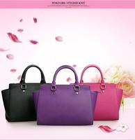 Fashion 2014 genuine leather cowhide shoulder handbag women messenger bag totes women's handbag big bag