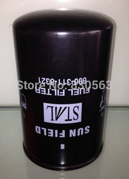 Free Shipping Komatsu Fuel Filter 600-311-8321(China (Mainland))