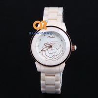 white camellias watch 2014 hot sale lady women's table fashion trend watches female rhinestone small star style watches