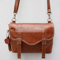 PU DSLR Camera Bag Vintage Shoulder Bags NEW Brown PU Leather Camera Shoulder Bag Case Pouch for DSLR SLR CANON SONY Camera