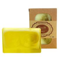 Free shipping Chamomile essential oil handmade soap 110g cleasing bath beauty moisturing OEM handmade soap wholesale