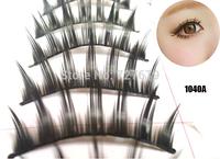 New arrive 10 Pairs 4 style women Thick Long False Eyelashes natural  individual Eyelash Eye Lashes Voluminous Makeup black