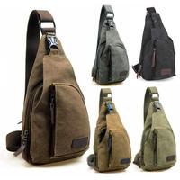 2014 New Men Women Small Sport Chest Bags Travel Male Messenger Bags Retro Shoulder Bag Waist Pack  Belt Bag Outdoor Phone Pouch