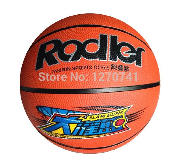 RODLER Rubber basket ball standard 7# basket ball outdoor basket ball(China (Mainland))
