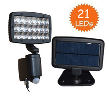 Solar 20LED Flood Security Wall Light With Motion Sensor Detector(China (Mainland))