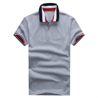 Promotion Classic men shirts 2014 top quality men tshirt brand crocodile casual cotton lapel shirts 8 colors available