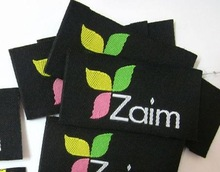 popular woven tag