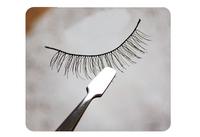 Fake Eyelashes Eyebrow Tweezers clip stainless steel Eye Lash eyelash curler Applicator Eye Lashes Beauty Makeup Tool for women