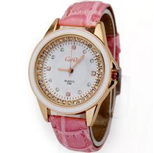 Luxury Pink High Quality Lady Girls Women's Fashion Jewelry Diamond Dress Quartz Wrist Watches, Free & Drop shipping