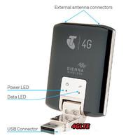 High quality  Unlocked Sierra 320U 4G LTE Wireless Modem 100Mbps PK Sierra 312U Huawei E398 K5005 Free Shipping