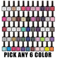 Pick Any 6 in New 73 Color MSKEIKO Soak-off UV Led Gel Polish SHELLAC Nail Art 10ml