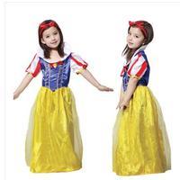 Halloween children dress masquerade costumes children clothing apparel Snow White skirt 220 g
