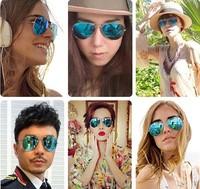 2014 New Fashion Frog Mirror Sunglasses Aviator Sunglasses Vintage Eyeglasses glasses Women & Men brand designer Sunglasses