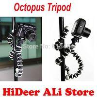 5 pcs/lot Gorillapod Type Flexible Leg Mini Tripod for Digital Camera  DV Octopus Flexible Tripod Bracket Stands