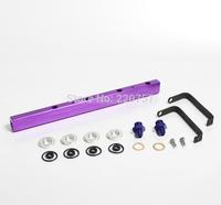 Auto Parts  Fuel Rail Kit for  Nissan SR20 RS14 with high performance  FR002PL purple color