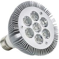 FREE SHIPPING WHOLESALE NON-DIMMABLE LED PAR30 led spotlight bulb 7*2W E27 PAR 30 10pcs