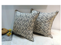 ylby001,45*45 cm,Promotion American Pastoral Chenille Wave Pillowcase Sofa Bed Cushion Cover