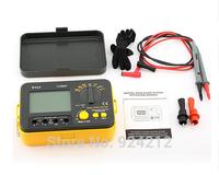 New VICI VC60B+ DCV ACV Digital Insulation Resistance Tester Megger MegOhm Meter