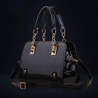 Bulk Price Classic Glamour Woman PU Leather Handbag Female Bags Women Travel Bags Totes Shopping Bag WH107