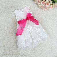 Foreign trade children's clothing fashionable dress vest skirt of the girls dress