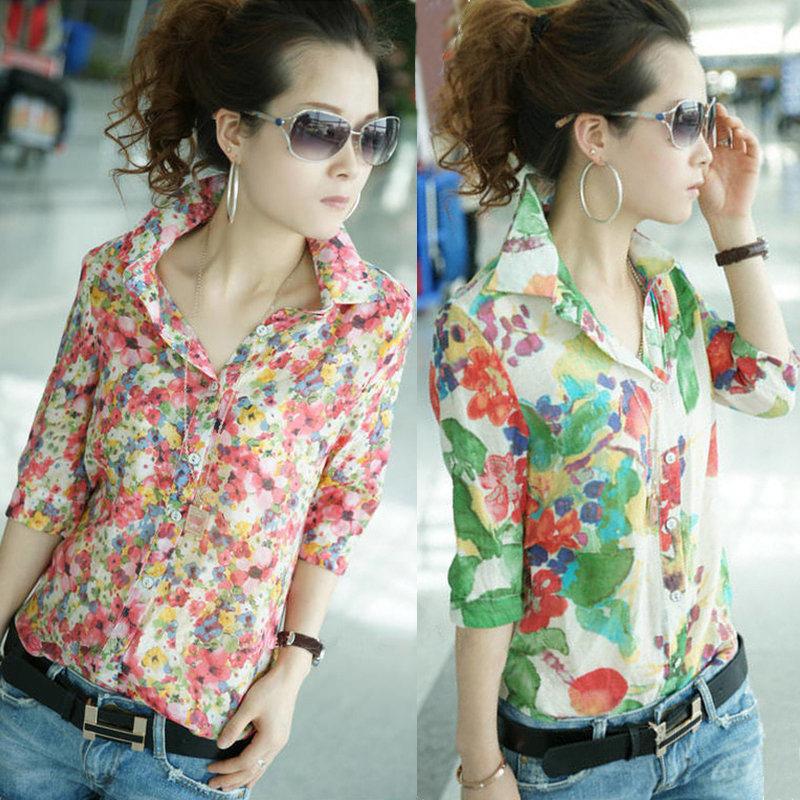 Женские блузки и Рубашки Brand New Fit G0445 женские блузки и рубашки brand new o sv003597