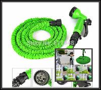 100Pcs/lot 100FT Garden water Hose expandable flexible hose Garden hose with Spary Gun S09