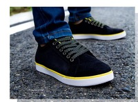 factory sale new 2014 spring high quality Cotton Fabric nubuck tenis men shoes casual sneakers