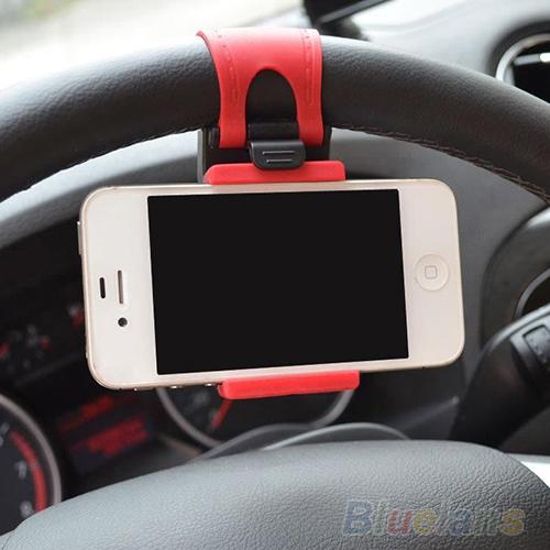 carro volante montar suporte elástico para iphone ipod mp4 gps mobile phon