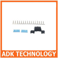 Universal OBD2 16Pin Female Connector OBD ii Female Plug Adapter  OBD 2  Connector  1pcs for sell free shipping