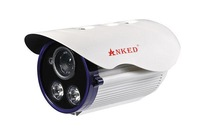 cheap network bullet camera  outdoor 1280x720 real time 1Megapixel IR ip camera IR-CUT 50 Meters