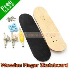 madeira skates dedo com caixas novidade brinquedos e hobbies esportes finger skate para crianças presente knick- dom frete grátis(China (Mainland))