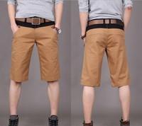 2014 Hot Sale male's leisure/casual short trousers man's shorts Army green /khaki Drop Shipping Free Shipping