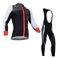 Cool !! 2014 Castelli long sleeve cycling jersey and bib pants/cycle/bike clothes/cycling clothing (maillot) 52D Free shipping