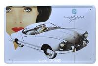 Many patterns 20cm*30cm CUBA STREET CAR Tin Sign Tinplate Poster Retro Vintage Metal Painting Decor Wall Home Bar Pubs Cafe